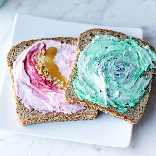 Manuka Honey Mermaid Toast