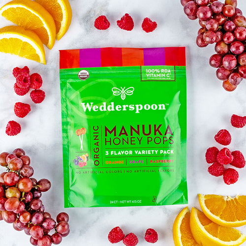 Wedderspoon's Sweetest Addition – New Organic Manuka Honey Pops