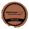 Delicious Living Best Bite Award