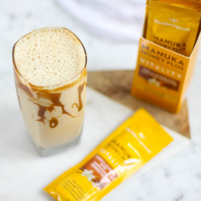 Caramel Vanilla Post-Workout Shake