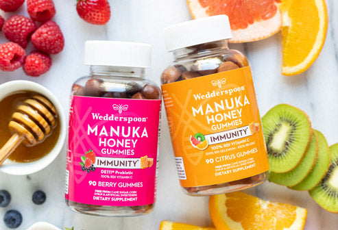 Immunity gummies manuka honey