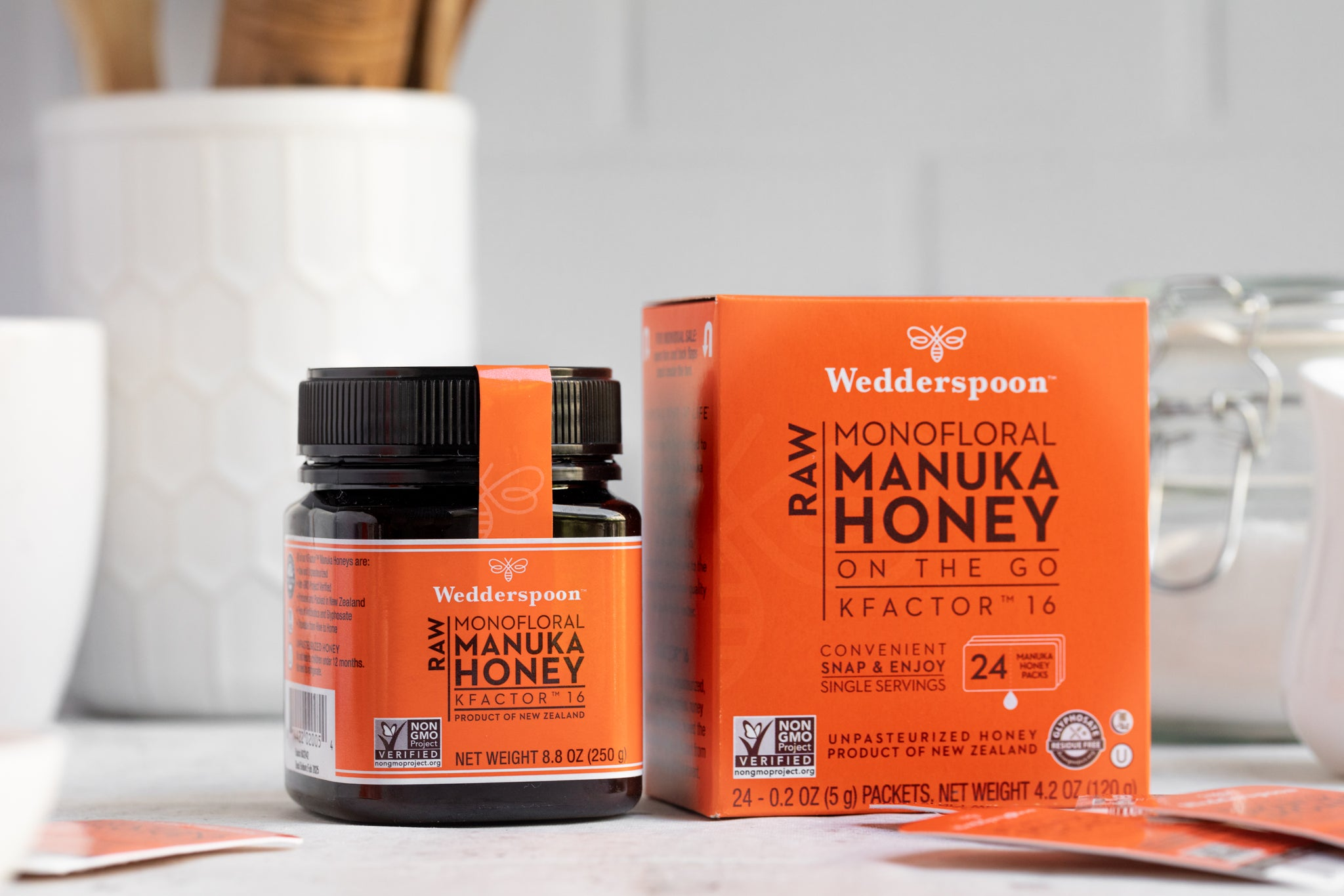 Wedderspoon Manuka Essentials Bundle