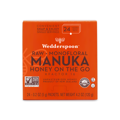 Wedderspoon Manuka Honey on the go