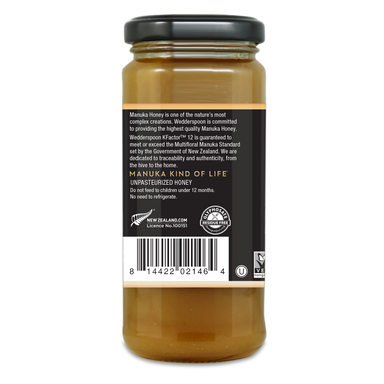 Wedderspoon Manuka Honey K12 325g 1
