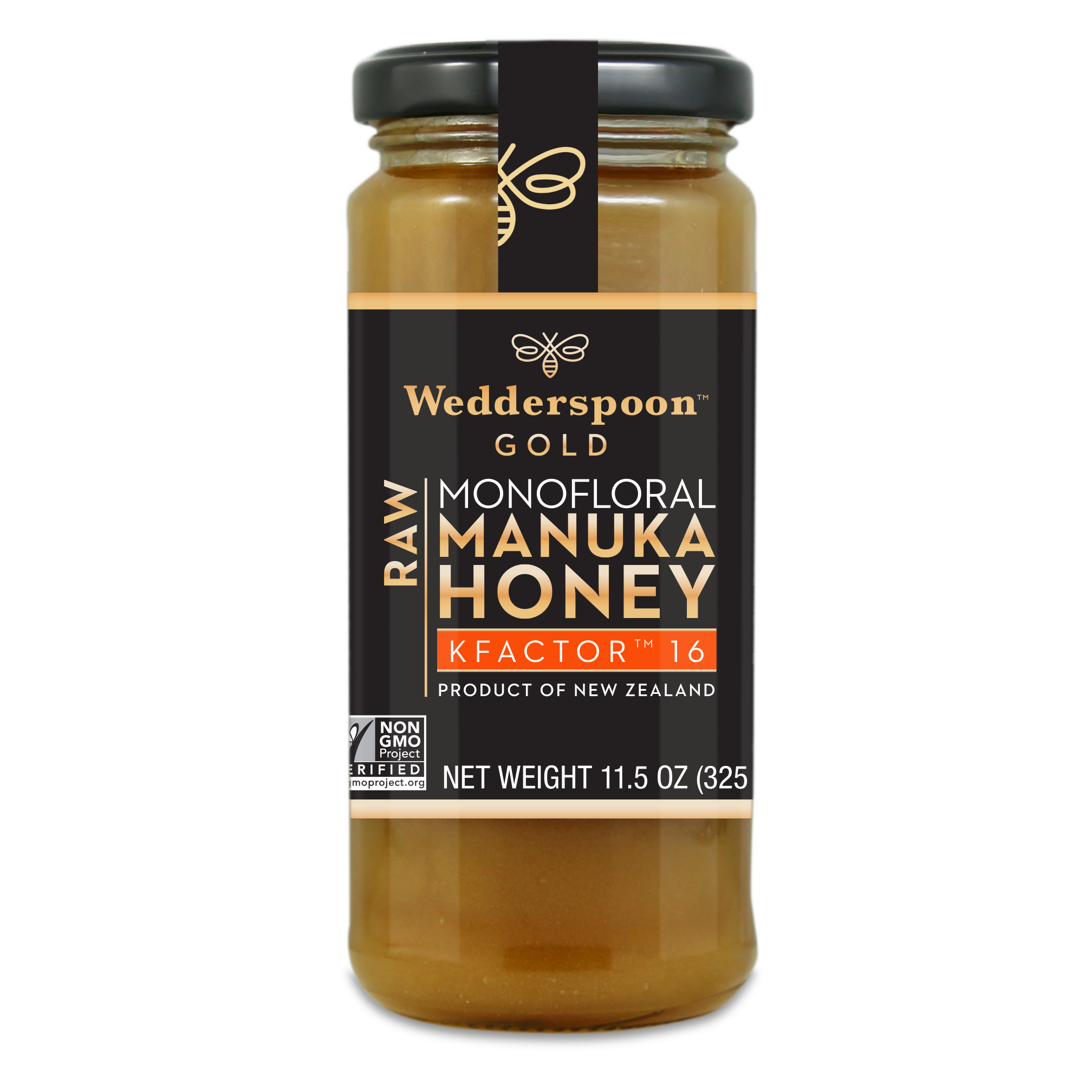 Wedderspoon Manuka Honey K16 325g