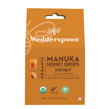 Wedderspoon Manuka Honey Drops Honey