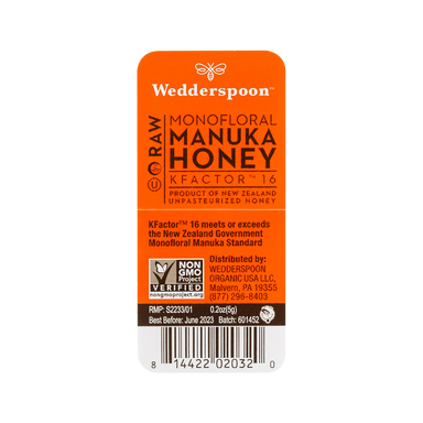 Wedderspoon Manuka Honey on the go 1
