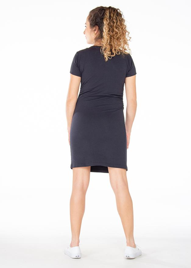 Vestido Bsk Negro Ref VE00117 |  Black Bsk Dress Ref VE00117