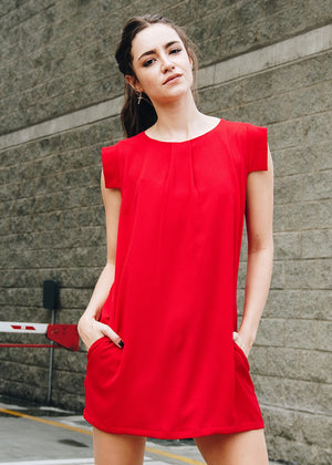 Vestido Redloop rojo Ref VE00112 |   Red red dress Ref VE00112