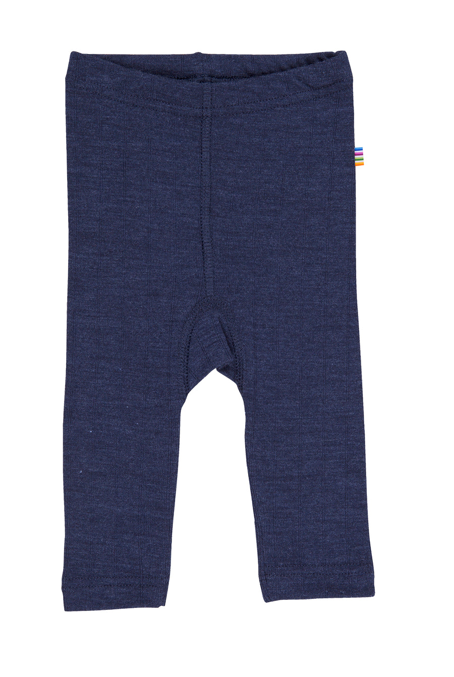 JOHA - Wool/Silk Rib Leggings - Navy