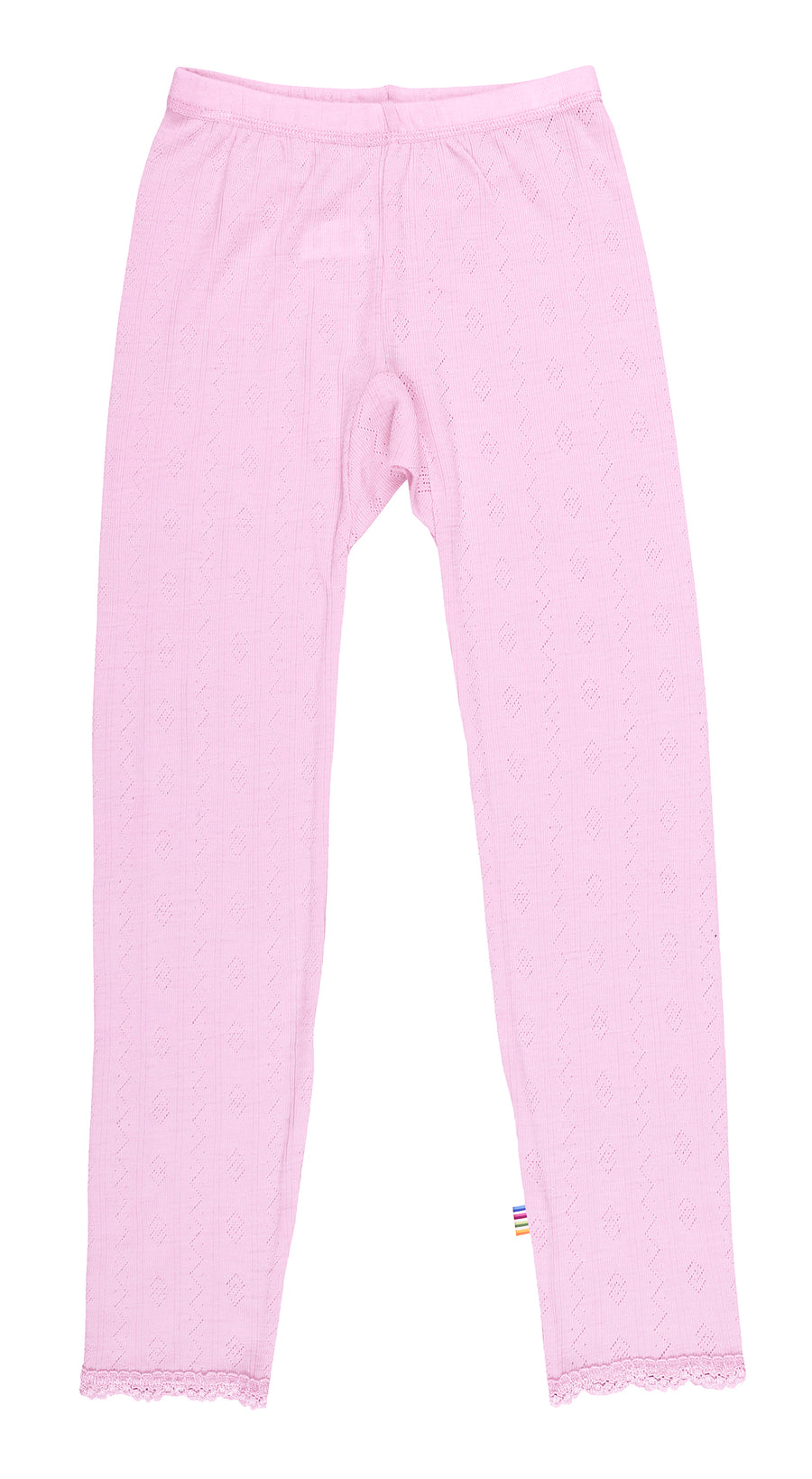 JOHA - Wool/Silk Leggings - Pale Pink