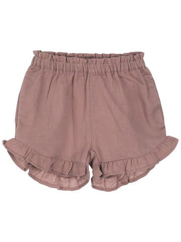 SERENDIPITY ORGANICS - Gauze Childrens Shorts - Heather