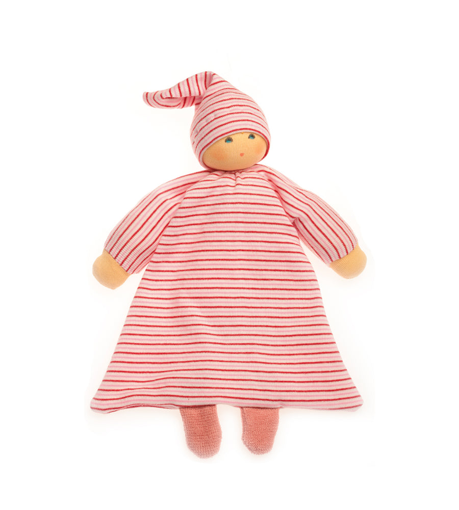 NANCHEN NATUR - Comforter Doll - Rose Stripes