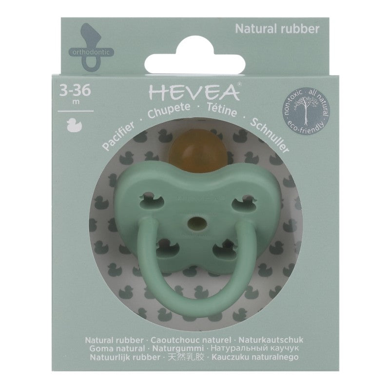 HEVEA - Orthodontic Pacifier - Pistachio