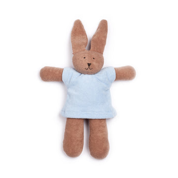 NANCHEN NATUR - Cuddly Animal - Blue Rabbit