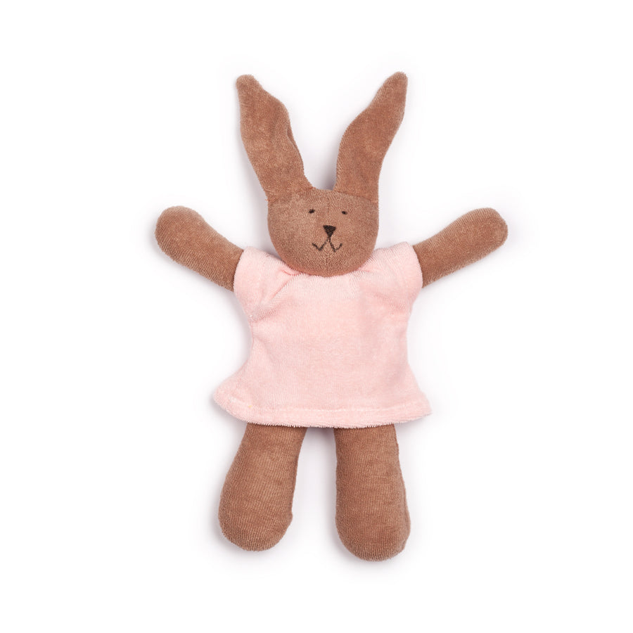 NANCHEN NATUR - Cuddly Animal - Pink Rabbit