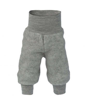 ENGEL NATUR - Wool Fleece Pants - Grey