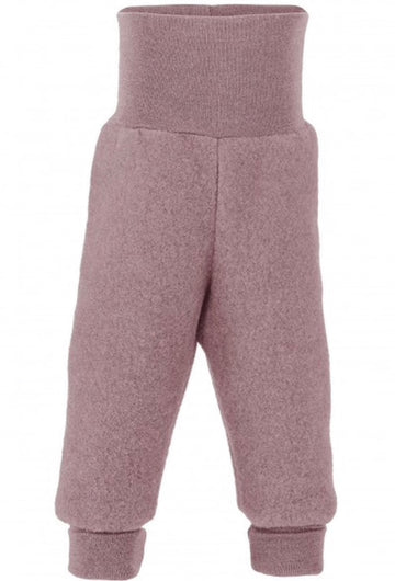 ENGEL NATUR - Wool Fleece Pants - Rosewood