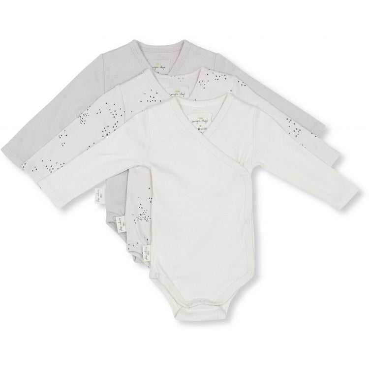 KONGES SLØJD - Nuevo 3 Pack Newborn Body - Unisex