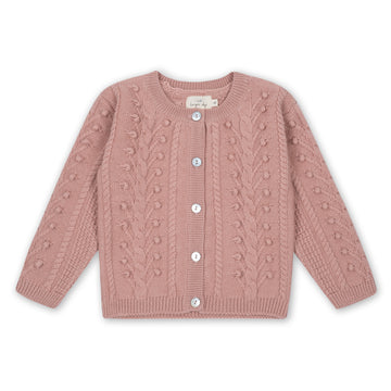 KONGES SLØJD - Silya Cardigan - Rose Blush