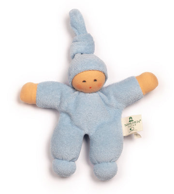 NANCHEN NATUR - Pimpel Doll - Light Blue