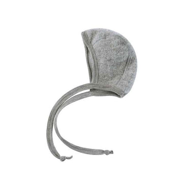 ENGEL NATUR - Baby Bonnet - Grey