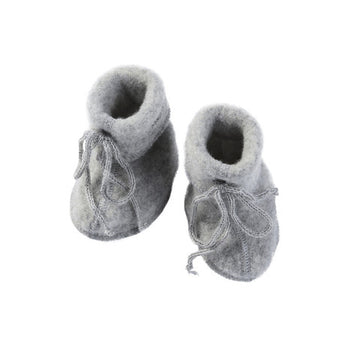 ENGEL NATUR - Baby Booties - Grey