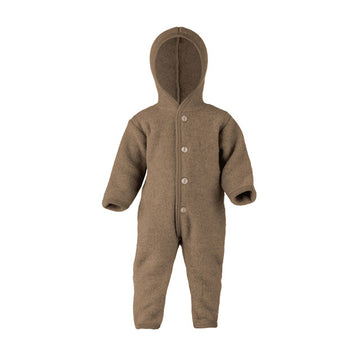ENGEL NATUR - Hooded Overall - Walnut