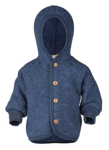 ENGEL NATUR - Hooded Jacket - Navy