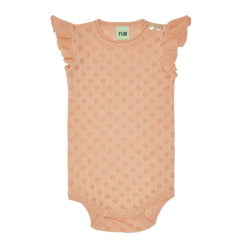 FUB - Pointelle Body - Rose
