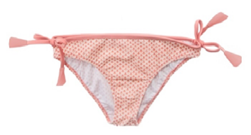 FOLPETTO -  Isla Swimpants - Coral Pink Scales Print