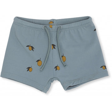 KONGES SLØJD - UV Swimshorts - Lemon/Jade