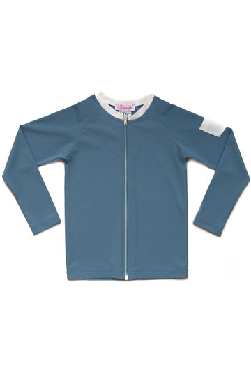 FOLPETTO -  Leonardo Rash Guard - Dusty Blue