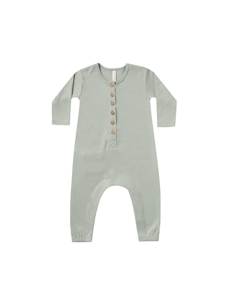 QUINCY MAE - Long Sleeve Jumpsuit - Sage