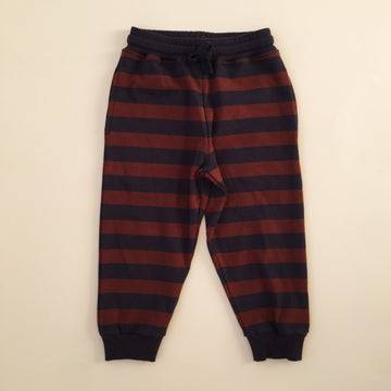 KONGES SLØJD - Lou Sweat Pants - Navy/Mocca