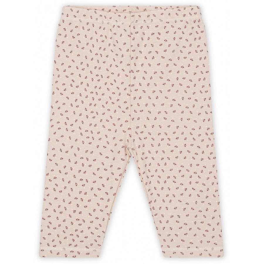 KONGES SLØJD - Newborn Pants - Tiny Clover / Rose