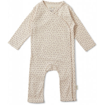 KONGES SLØJD - Newborn Onesie - Tiny Clover / Rose