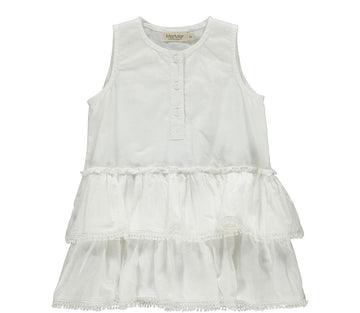 MARMAR COPENHAGEN - SS20 Rumba Baby Dress - White