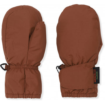 KONGES SLØJD - Baby Snow Gloves - Choco Bean