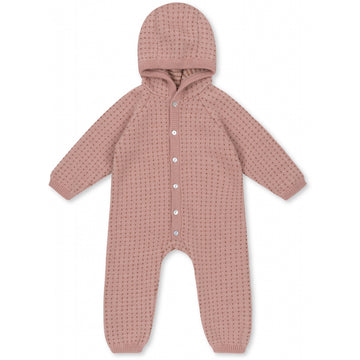 KONGES SLØJD - Tomama Onesie - Rose Blush/Honey Comb