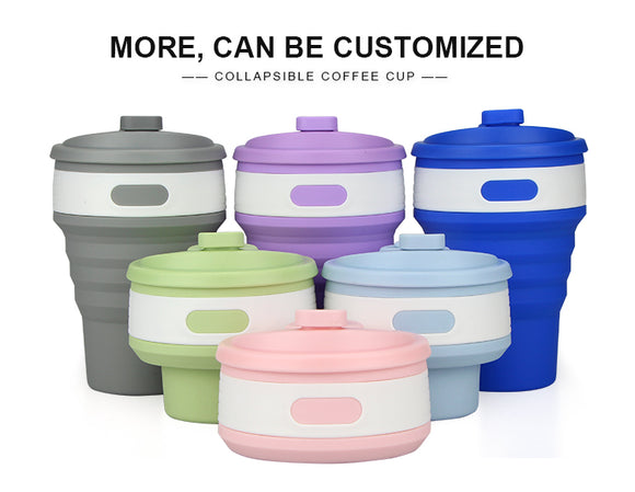 BPA Free Collapsible Foldable & Leak Proof Travel Buddy Mug