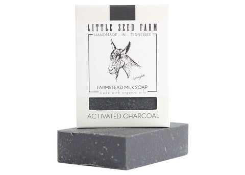 ACTIVATED CHARCOAL BAR - Little Seed Farm