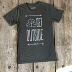 BAMBOO TEE 'GET OUTSIDE' - Men's