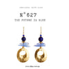 N°627 The Future is Blue Statement Earrings