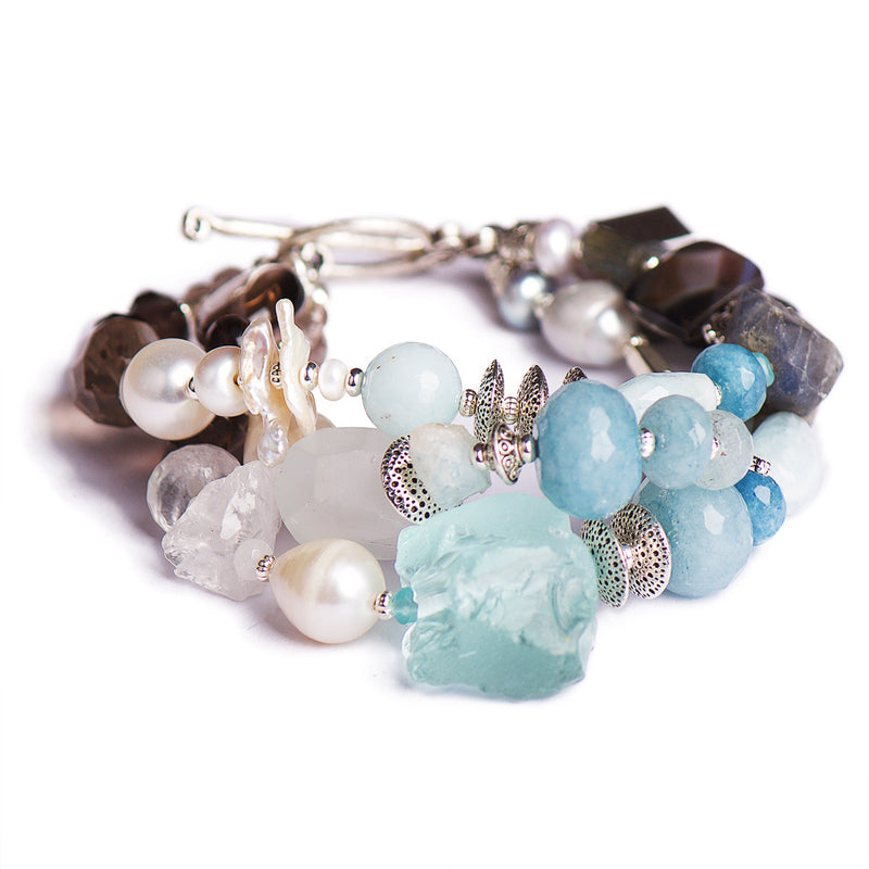 N°493 The Irresistible Ice Harvest Statement Bracelet