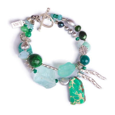 N°503 The Emerald Ink Wunderkind Statement Bracelet