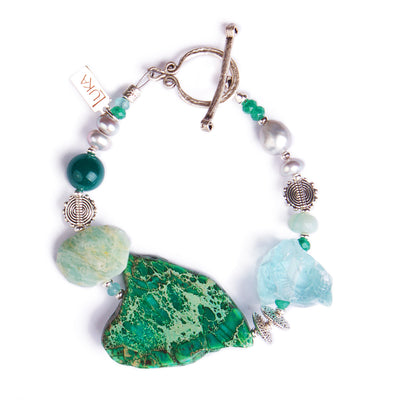 N°504 The Emerald Ink Wunderkind Statement Bracelet
