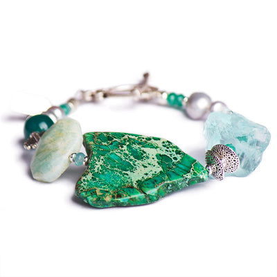 N°504 The Emerald Ink Wunderkin Statement Bracelet