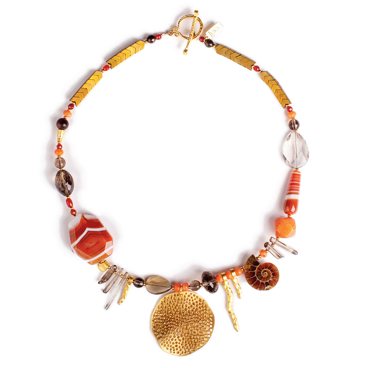 N°602 Life on Mars Statement Necklace