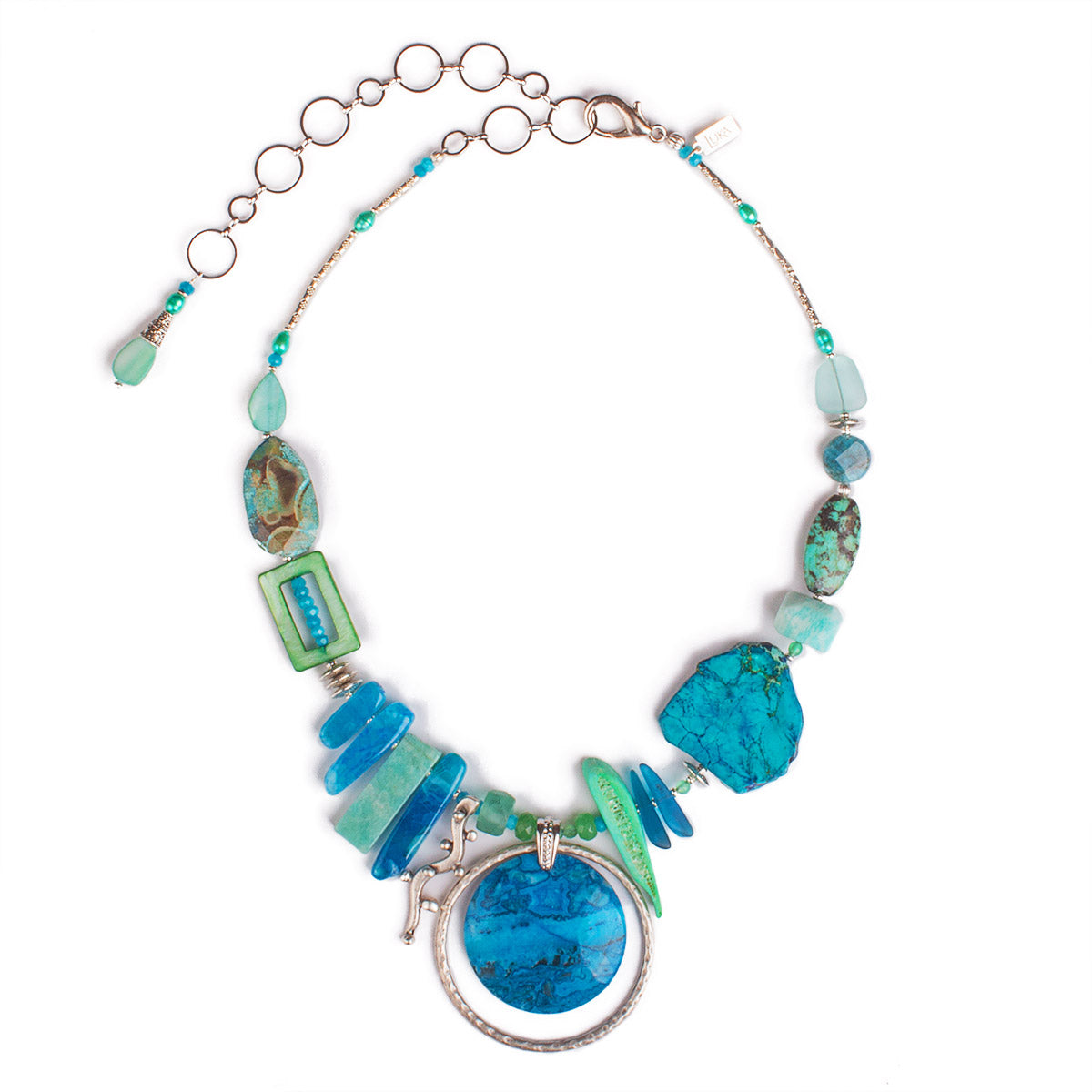 N°610 The Delicious Beach Guest List Statement Necklace